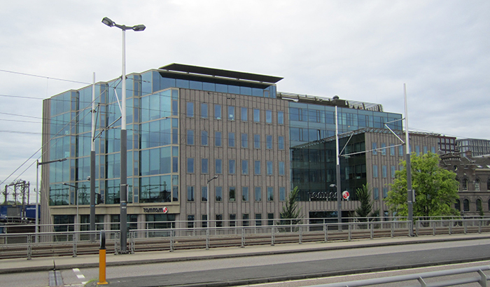 TomTom's HQ in Amsterdam, Netherlands. Image source: Wikipedia.