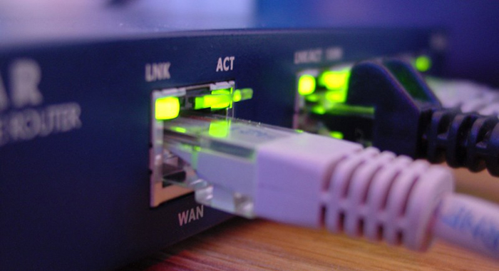 A wired Ethernet connection reduces interference and is the fastest and most reliable way to get connected to your router and the internet. Image Source: Tavis Online.