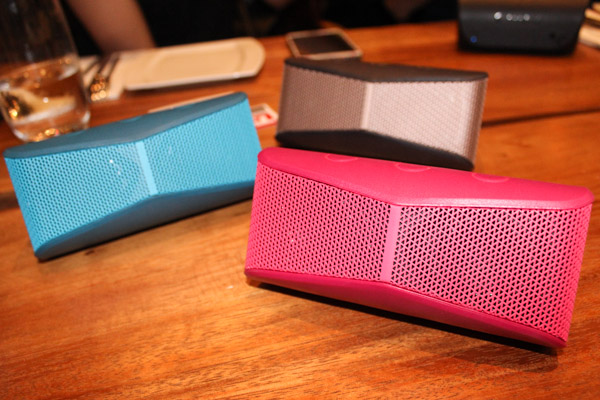 The Logitech X300 is available locally in black, blue and pink at launch.