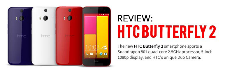 Review: HTC Butterfly 2