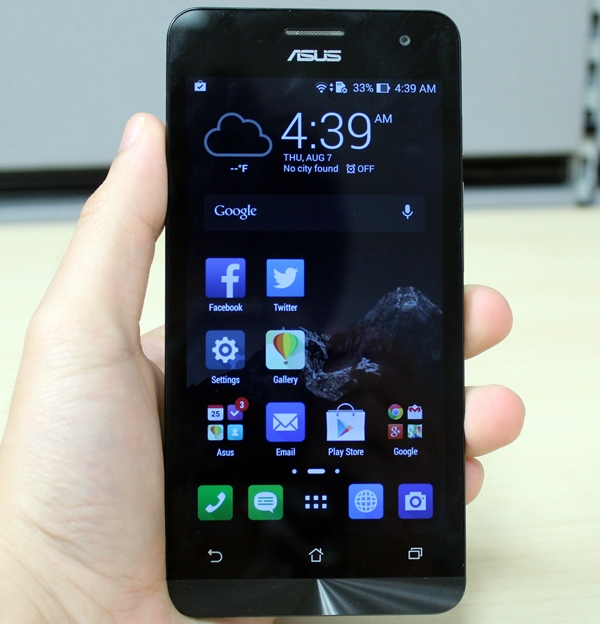 The retail unit of the ASUS ZenFone 5 comes with 2GB RAM.