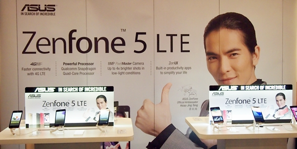 ASUS set up booths to showcase the ZenFone 5 LTE and other recent ZenFone models to HardwareZone readers.