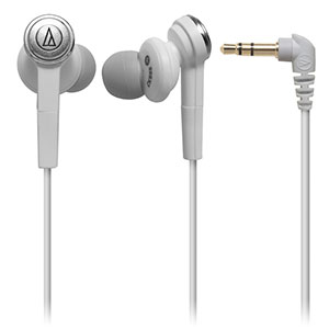 Audio-Technica ATH-CKS55 In-ear Headphones (White)