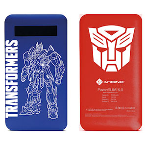 Andino PowerSlim 6.0 Transformers 4 Limited Edition Powerbank