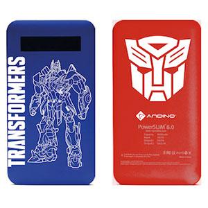 Andino PowerSlim 6.0 Transformers 4 Limited Edition Powerbank