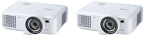 The main difference between the two short throw models is their resolution: the LV-WX300ST's 1,200 x 800, while the LV-X300ST's 1,024 x 768.