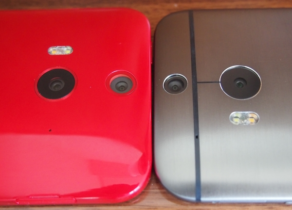 The Butterfly 2 (left) is the second HTC handset to come with Duo Camera.