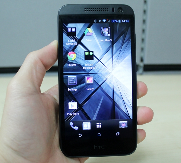The HTC Desire 616 looks almost like every other HTC phone released this year.
