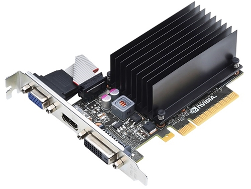 NVIDIA GeForce GT 720 graphics card (Image source: NVIDIA)