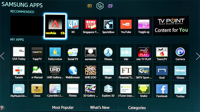 how to get samsung tv off of favourite channel