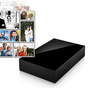 Seagate Backup Plus 2TB External Desktop Drive USB 3.0