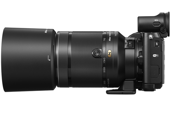 The 1 Nikkor VR 70-300mm f/4.5-5.6 mounted on a Nikon 1 V3.