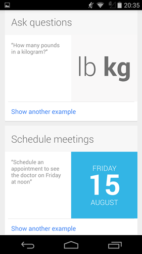 ask questions and schedule meetings for your Google calendar with just your voice!