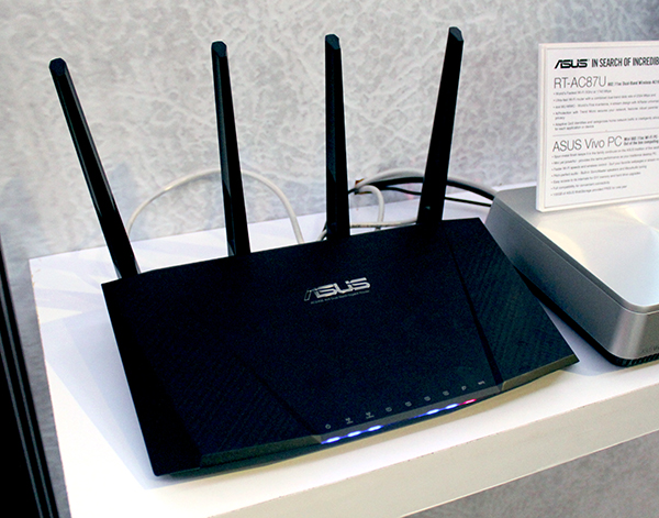 The asus rt ac87u ac 2400 class router will go on sale next week the asus rt ac87u greentooth Image collections