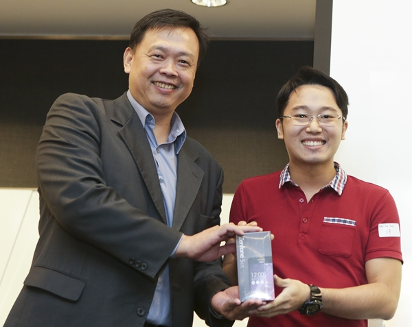 Mr. Teik Yong Liew won himself a ZenFone 5 LTE when his photo was voted the best.