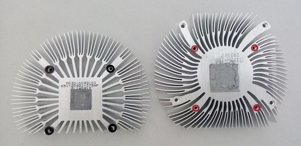 Nevertheless, the Palit GeForce GT 740 OC Edition's heatsink is bigger than that of the Sapphire Radeon R7 250.