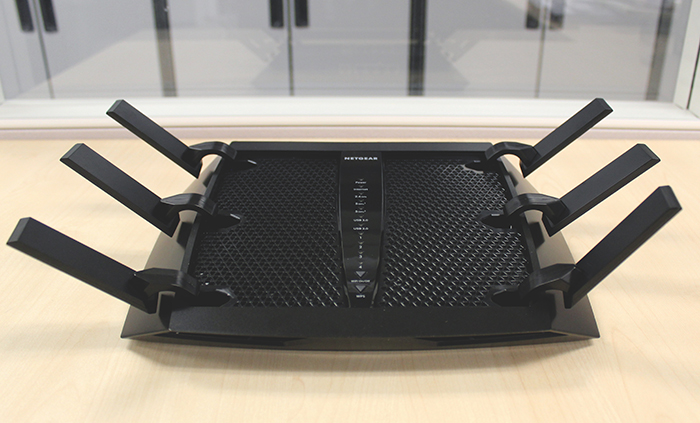The Netgear Nighthawk X6 was one of the first routers to be released to use Broadcom's 5G XStream chipset.