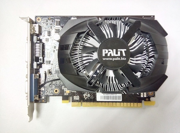 The short length of the Palit GeForce GT 740 OC Edition makes it an ideal graphics card for desktop PCs with a minimalist design.