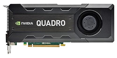 Quadro K5200 (Image source: NVIDIA)