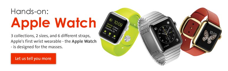 Hands-on: Apple Watch