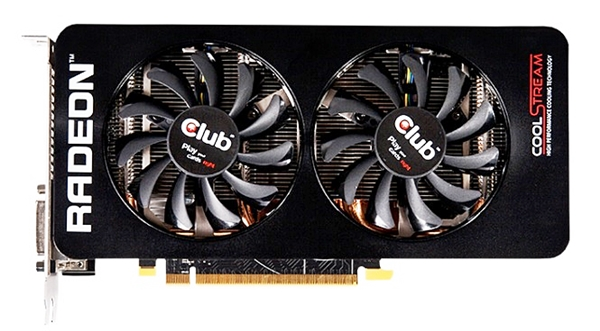 Club 3D Radeon R9 285 royalQueen (Image source: Club 3D)