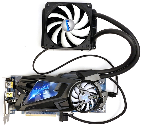 The HIS IceQ R9 290X Hybrid graphics card features a slightly overclocked Radeon R9 290X GPU at 1100MHz. Its 4GB GDDR5 video memory has also been overclocked to 6000MHz. Hence, the closed liquid cooling kit is in order to keep things running cool!