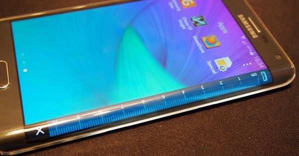 Hands-on: Samsung Galaxy Note Edge : Hands-on: Samsung