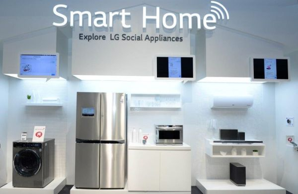 Ifa 2014 lg unveils the smart home for Smart home technology 2014