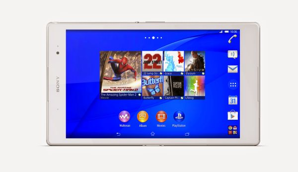 The new Xperia Z3 Tablet Compact is touted as the world's lightest and most compact 8-inch tablet.