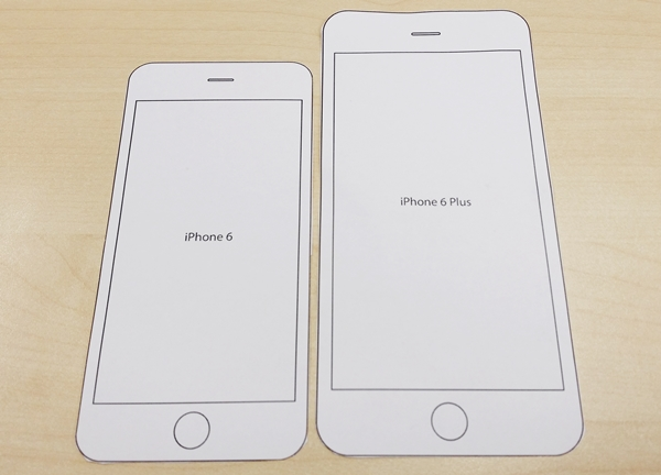 Print This Paper Template To Find Out How Each Iphone 6