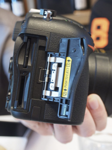 Dual SD slots are the order of the day for the D750.