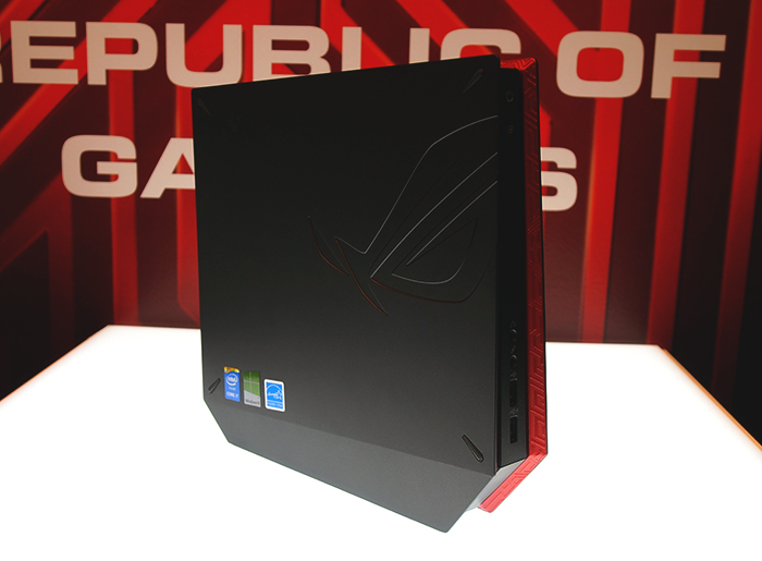 Don't be fooled by appearances, the ASUS ROG GR8 might be small, but it packs a mean punch.