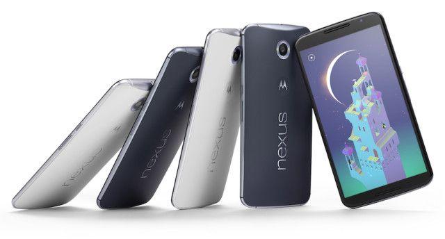 The Nexus 6. <br>Image source: Ubergizmo.