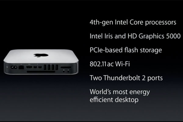 It's been almost two years since Apple last updated the Mac Mini. Well, better very late than never.