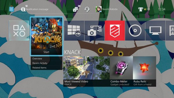 PS4 firmware update 2 0 adds USB music playback, themes