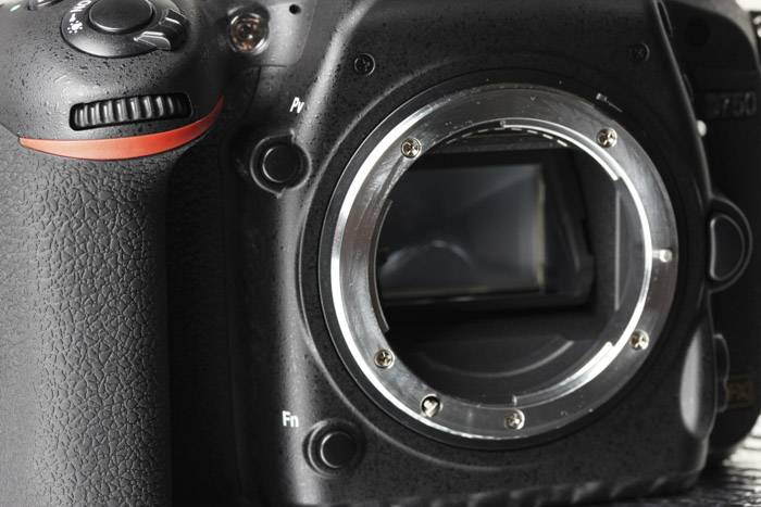These two buttons can be configured to control your aperture while in video mode.