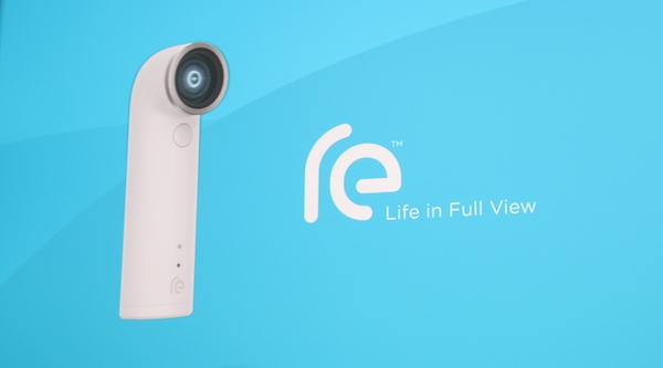 HTC RE is a little camera that keeps you at the heart of