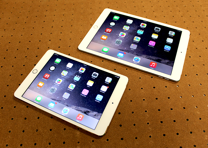 Apple had the first to market advantage and they are not giving up. For tablets, the iOS ecosystem is unrivaled and the new iPads (the Air 2, at least) are better than ever.