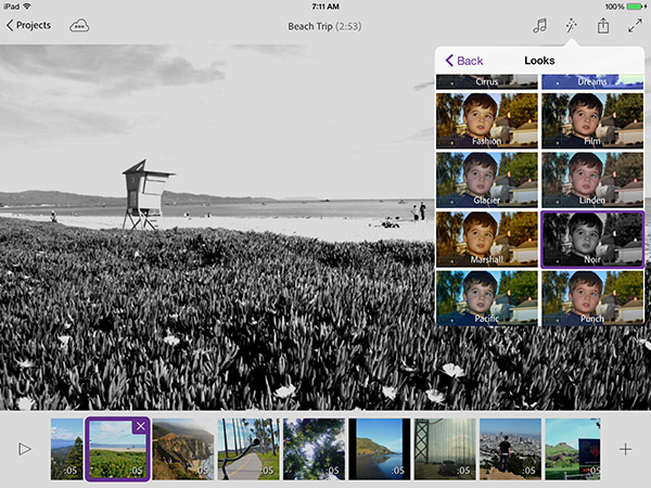 The new Adobe Premiere Clip lets you create and edit videos captured on your iPhone and iPad.