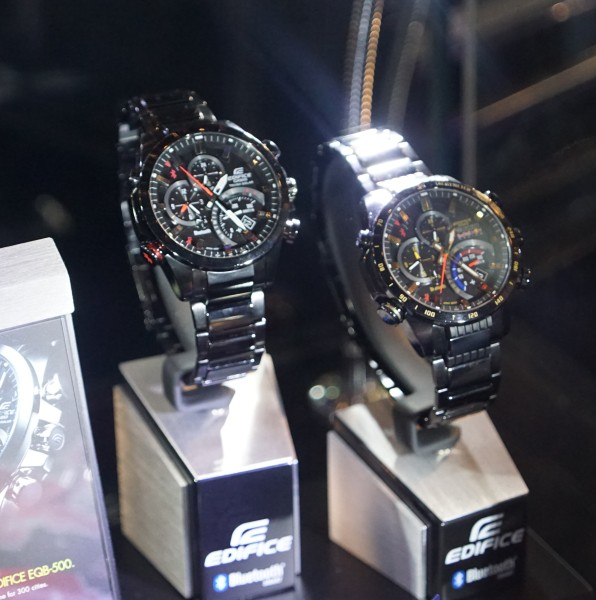 The Casio Edifice is a metal-analog watch that can connect to your smartphone.