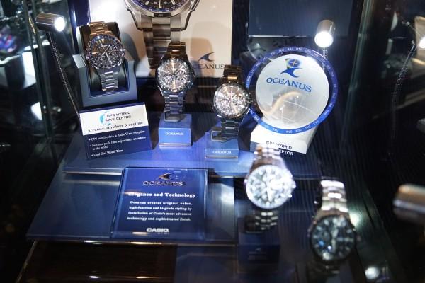 The Oceanus line is Casio's more premium and elegant series of analog watches.