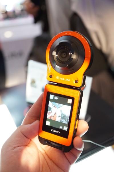 Meet the EXILIM EX-FR10, a modular camera that is detacheable.