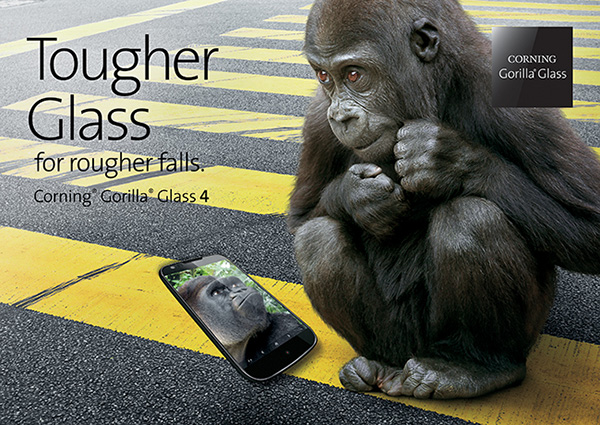 Corning is working on something even better than Gorilla Glass 4.