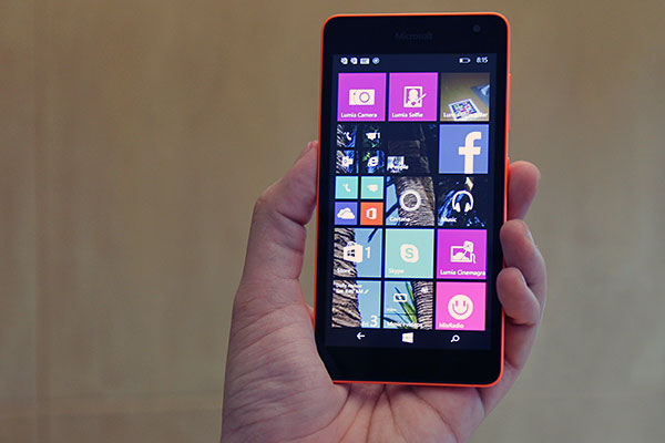 Nokia Lumia 535 Saturn: Nokia No More: This Is The Microsoft Lumia 535
