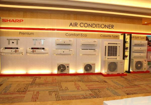 Sharp's J-Tech air conditioners.
