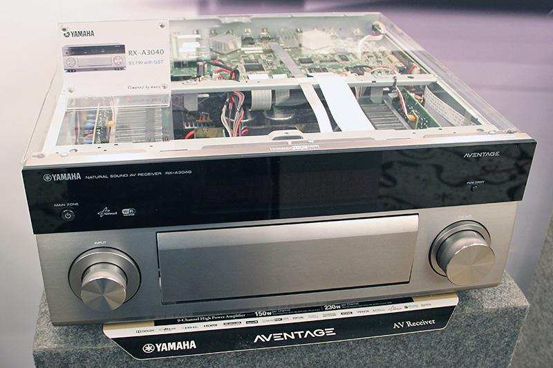Yamaha brings its latest AV arsenal to ISSE 2014