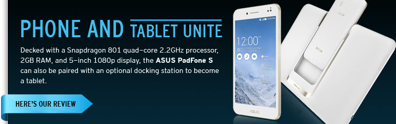Review: ASUS PadFone S