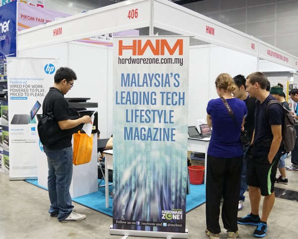 As usual, HWM+HardwareZone.com Malaysia has a booth presence at the PIKOM Fair. Come say hi at Booth #406!