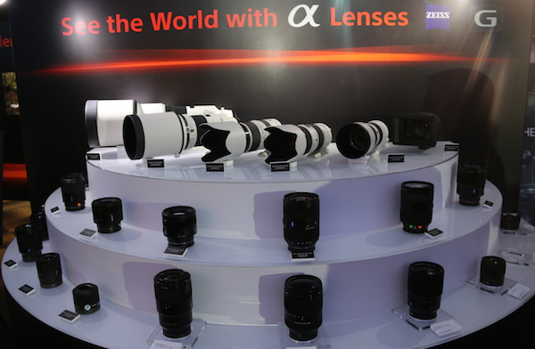 All the lenses that are compatible with the Sony's latest compact full-frame camera.