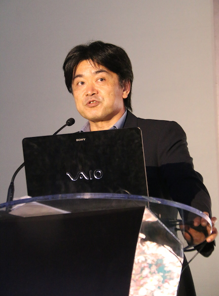 Naoki Sekiguchi, MD of Sony South East Asia, welcomed the guests with an energetic speech.